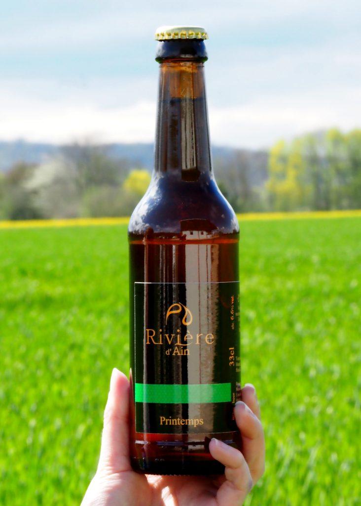 Rivière d'Ain Spring beer 2018: Bottled spring !