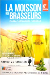Visite de la brasserie Samedi 25 Juin à 15h